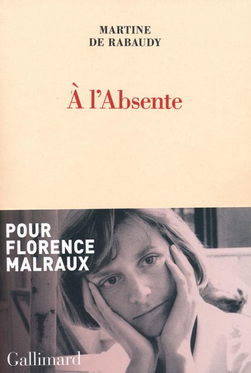 Image of «A l'Absente», par Martine de Rabaudy