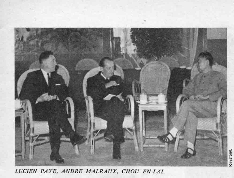 Image of L/1967.09.25 — André Malraux: «Ma rencontre avec Mao», «Le Figaro littéraire», 25 septembre 1967, p. 6-13.