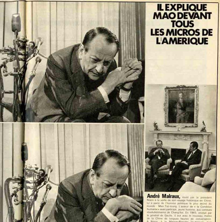 Image of Roger Mauge: «A l'origine de la rencontre Nixon-Mao, une conversation à l'Elysée», «Paris Match», 26 février 1972, n° 1190, p. 22-25.