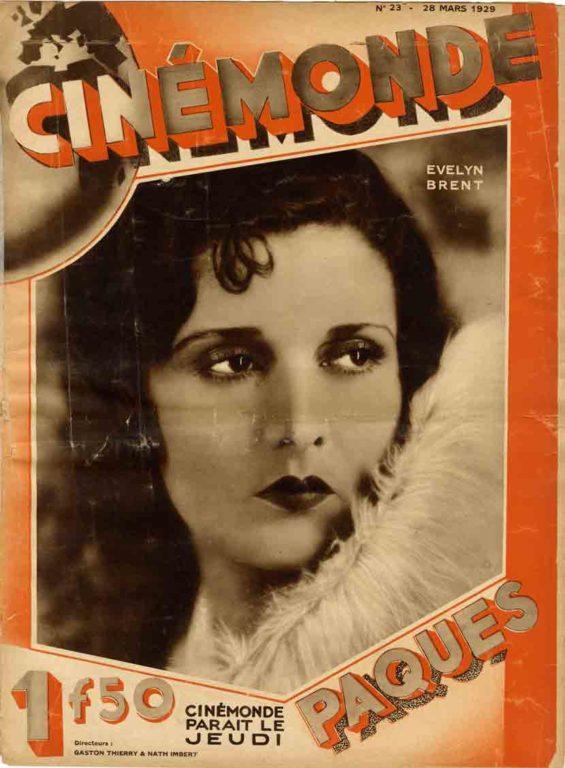 Image of Art. 258, 15 novembre 2019 | document • René Guetta [Clappique], «Sonore ou parlant?», «Cinémonde», 28 mars 1929, p. 408.